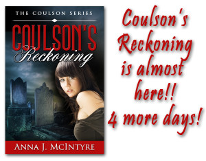 1 300x235 Countdown to the Release of Coulsons Reckoning!