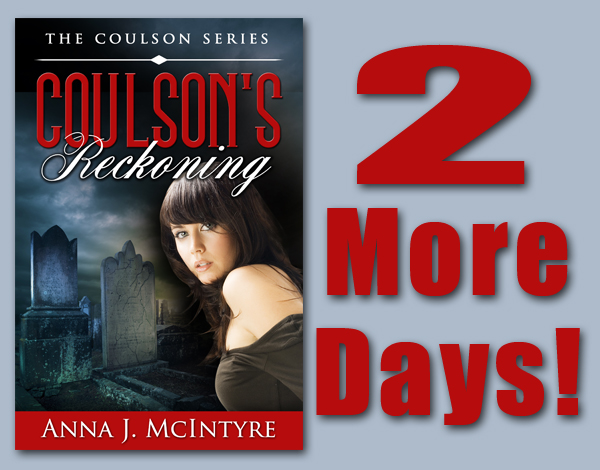TwoMore Sneak Peek into <i>Coulsons Reckoning</i>