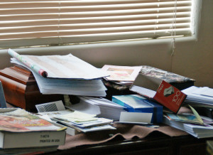 messy 300x218 Income Tax time of year – have you finished your taxes?